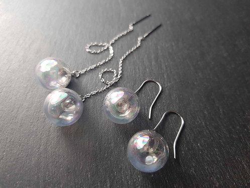 Boucles bulles, longues chaînettes ou simples AU CHOIX - 3163