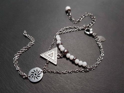 Bracelet de main, breloque TRIANGLE - 3099