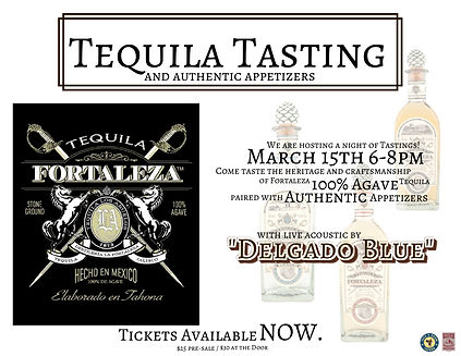tequila event flyer