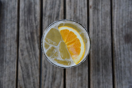 orange cocktail fresh squeezed