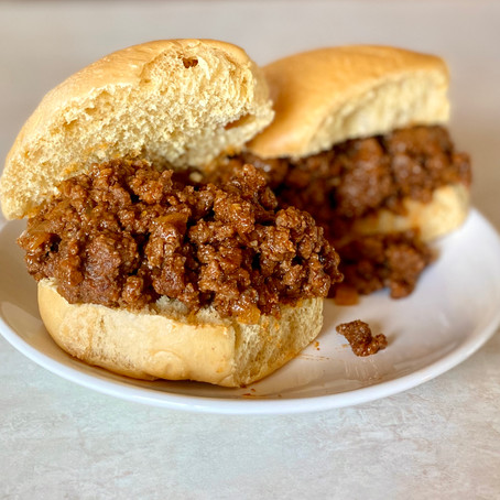 Low Calorie Sloppy Joe