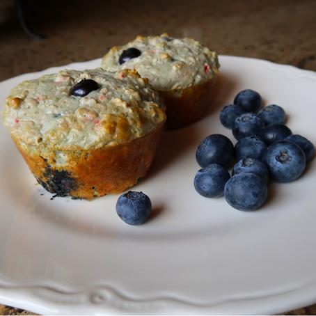 Protein Blueberry Muffins