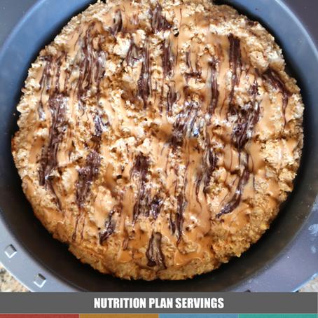 Baked Oats - Chocolate Peanut Butter