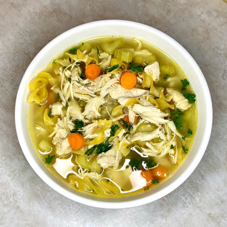 Extra Chunky Chicken Noodle Soup