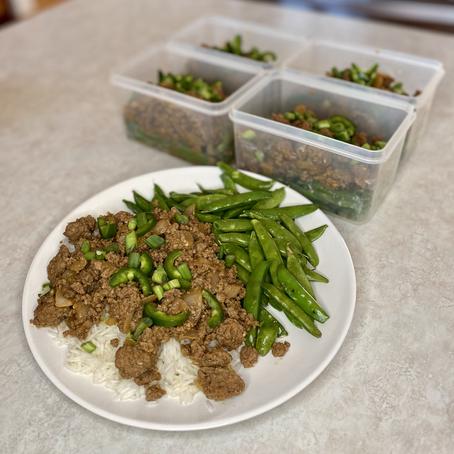 Korean Beef Meal Prep