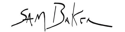 Sam Baker signature