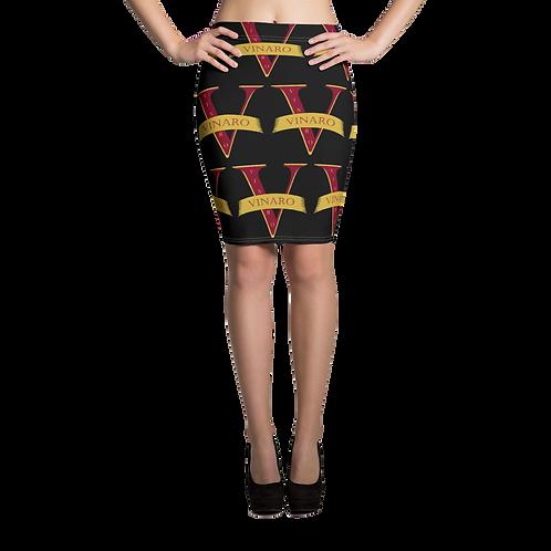 Vinaro Women Pencil Skirt Black