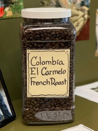 French Roast Colombia El Carmelo-1 lb