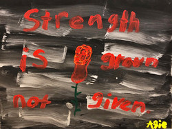 Strength is Grown, Not Given