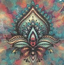 Lotus Blossom_Diamond Painting