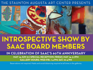 EXHIBIT | Introspective Show by SAAC Board Members