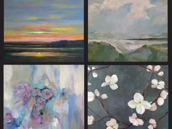 SAAC Exhibit | Harmony and Balance of Forms: landscapes and abstracts