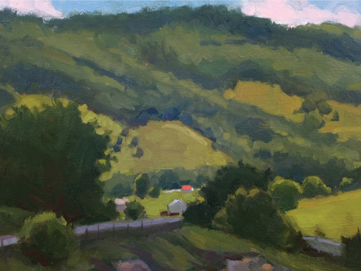 Pastoral Virginia | Paintings by Debra Sheffer