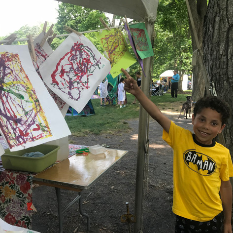 proud artist, kids tent.jpg