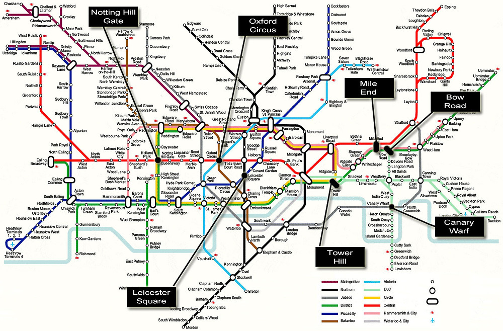 The Tube Map of London
