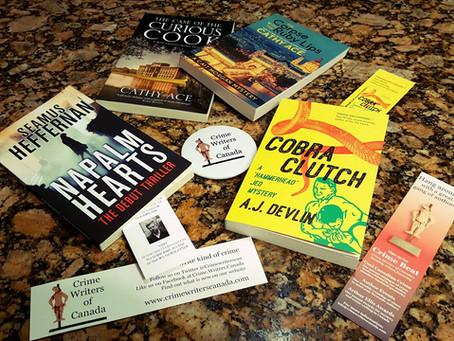 「加拿大犯罪作家協會」的新朋友,與他們的推理懸疑小說