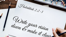 Write Your Vision. Make it Plain.
