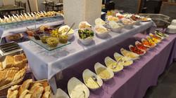 Kosher breakfast buffet