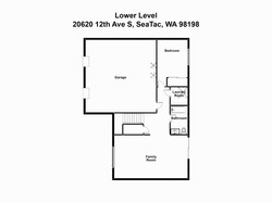 1-Lower Level 20620 12th Ave S, SeaTac,