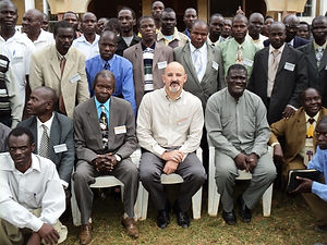 Dr. Randy and African Chapter GLA Leader