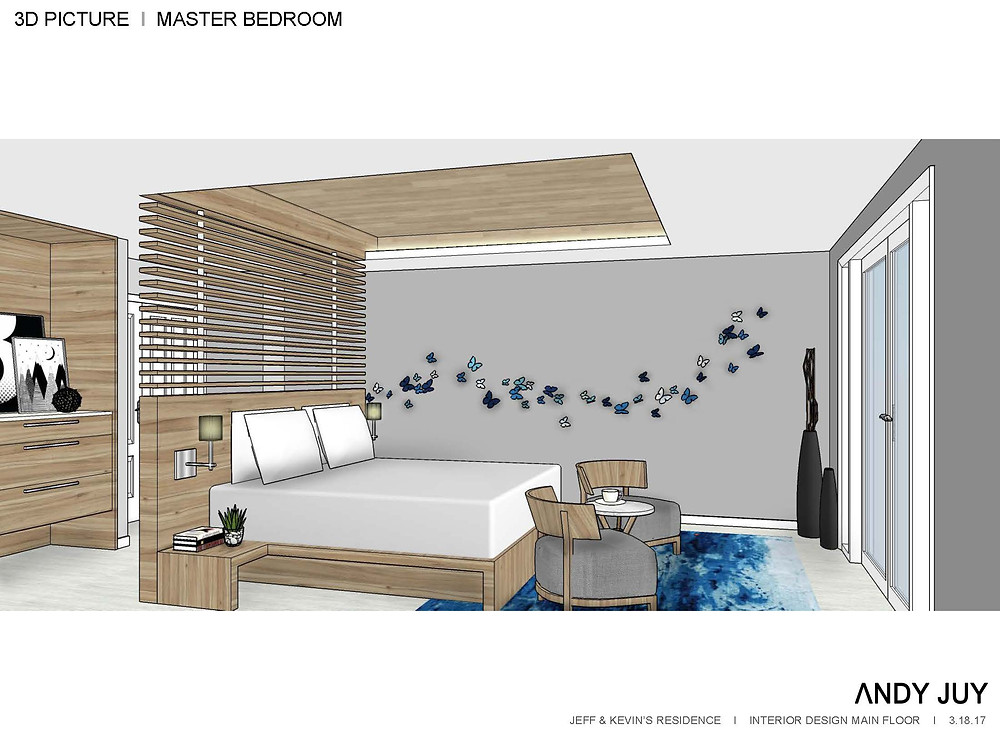 Master Bedroom 3D Picture