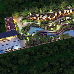 Adventure Park Resort 3D Planning by Andy Juy Interior Designs