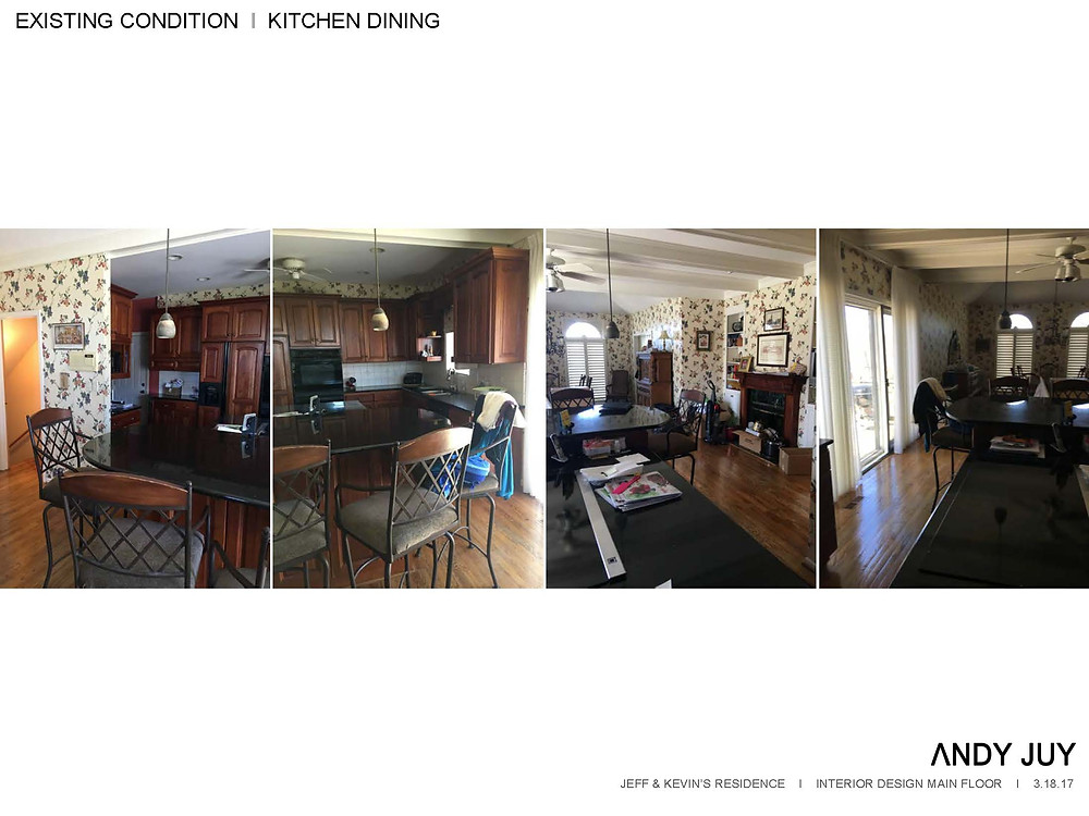 Existing Kitchen & Dining