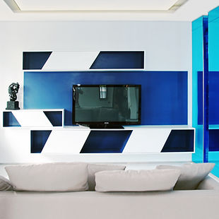 Modern Interior Design Clean Lines Living room by Andy Juy Interior Designs