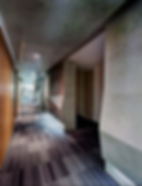 Modern Clean Lines Corridor  Office Workplace by Andy Juy Interior Designs