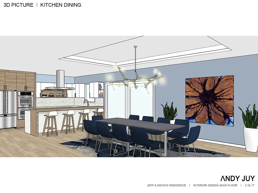 Living & Dining 3D Picture