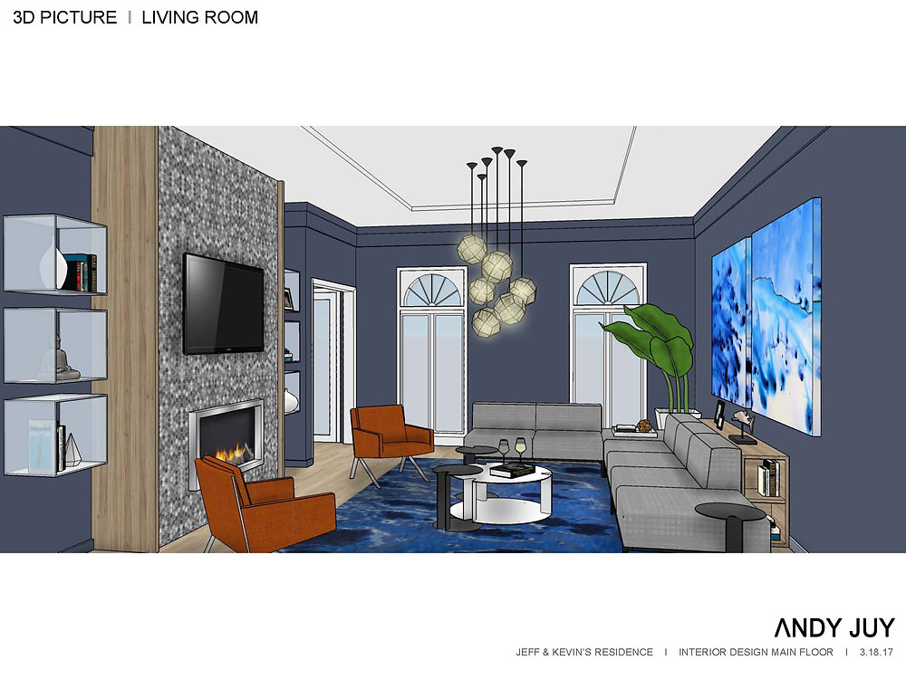 Living Room 3D Picture