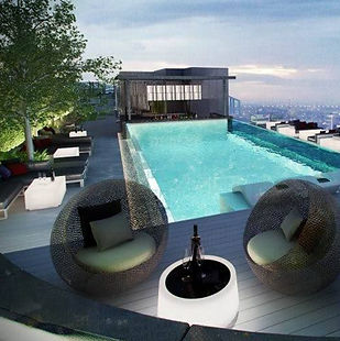 Rooftop Bar Design by Andy Juy Interior Designs