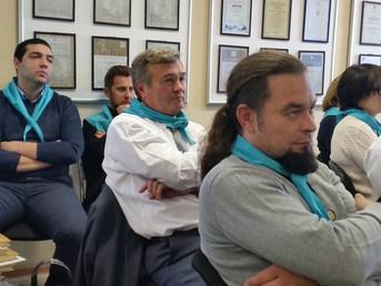 Выездное заседание в Таганрог. Опытом делиться Фирудин Абдулаев.