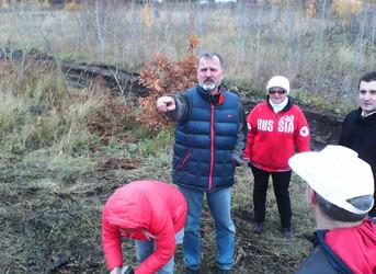 Проект НАШ ЛЕС, члены РК Меркурий Тольятти сажают лес
