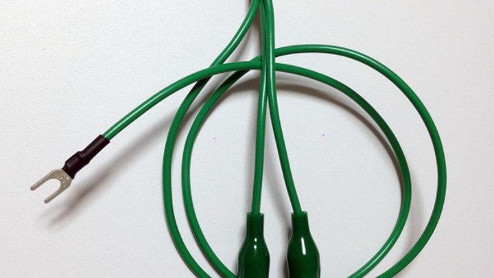 Pro-group(プロ・グループ) / クリップグランド(ClipGnDDVS) DJ機材用 アース接続ケーブル クリップ
