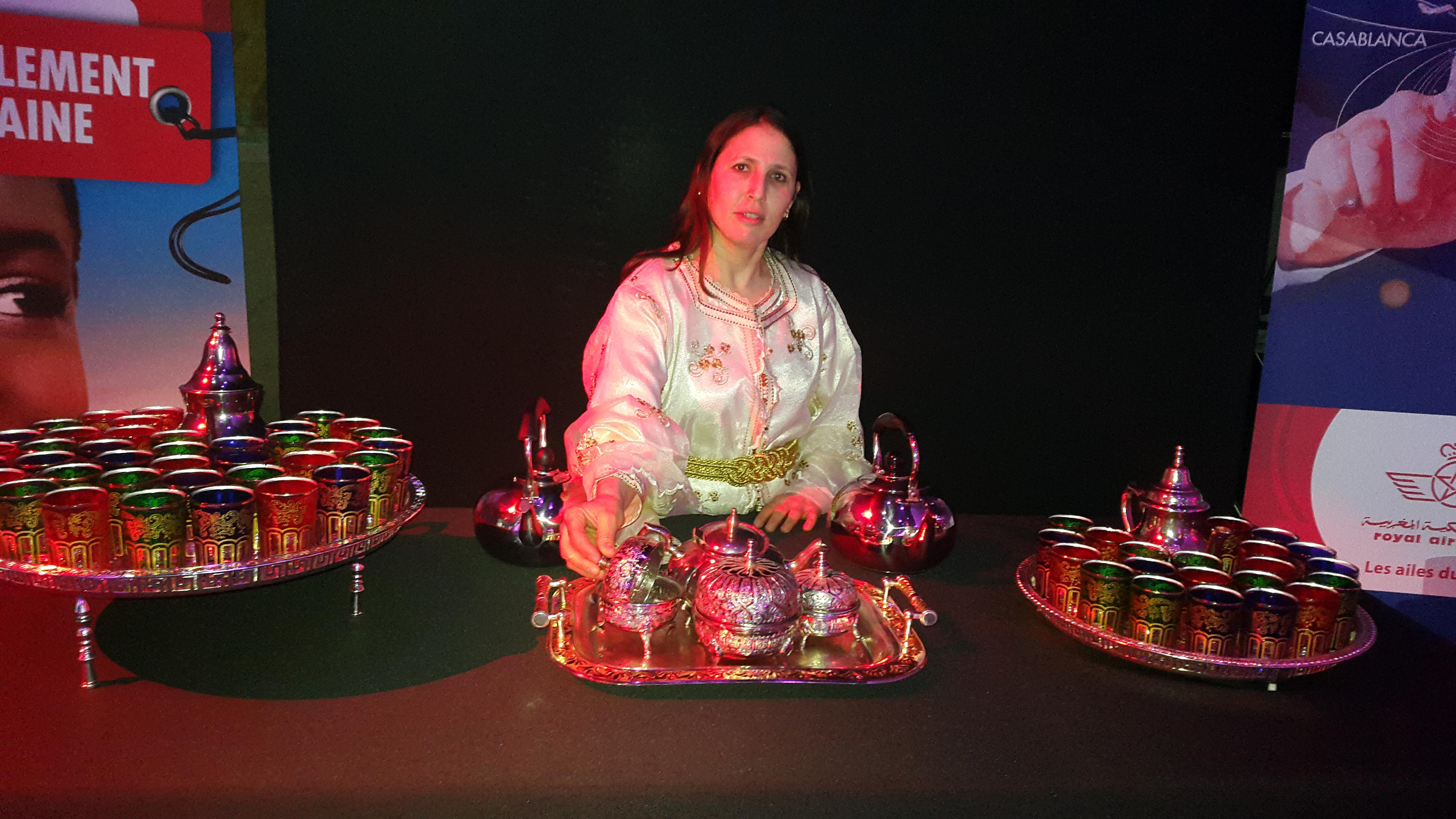 cérémonie du thé Royal Air Maroc