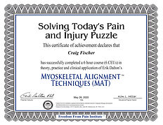 Solving Pain and Injury Puzzles