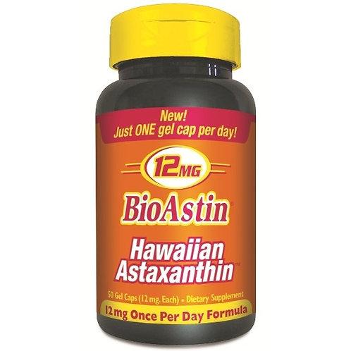 Astaxanthin 12mg 50 gel caps