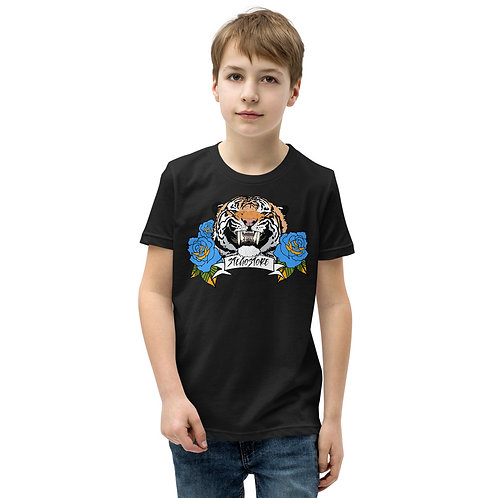 Boy's Tiger & Roses T-Shirt