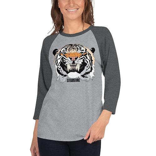 Women's Stego Tiger Basebal Shirt
