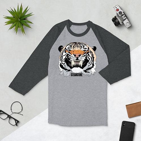 Men's Stego Tiger Baseball Tee