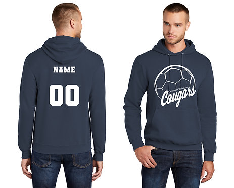 Cotton Sweatshirt - Navy