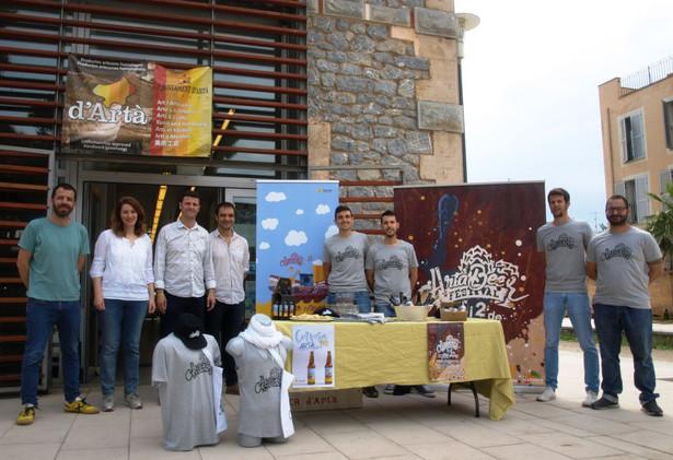 Presentació de la quarta edició de l'Artà Beer Festival