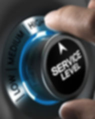 Button service level pointing the high p