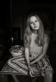 Portrait of my girl