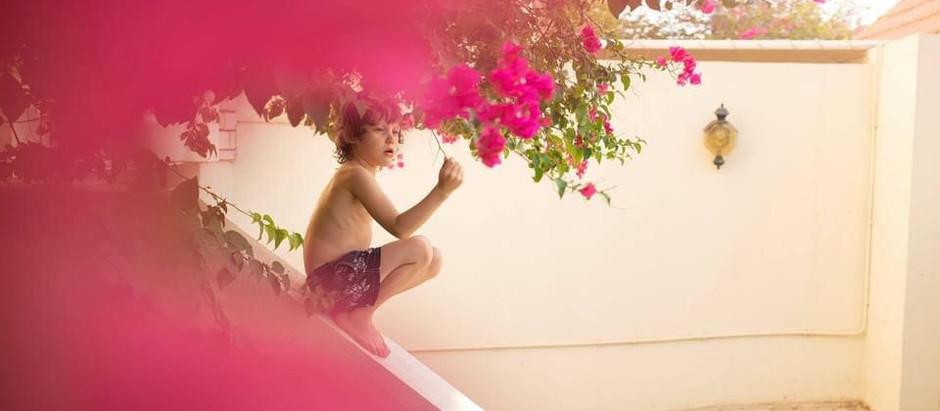 Pretty in pink. Garden Photoshoots