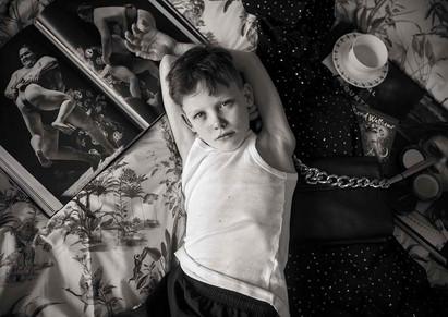 On Mummy's Bed