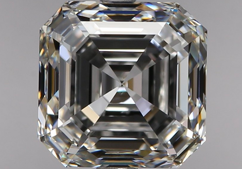 2.05 carat, Color Grade F, VS1 Clarity, Asscher Cut, GIA Certified