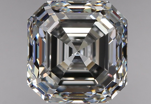 2.01 carat, Color Grade E, VVS2 Clarity, Square Emerald Cut , GIA certified