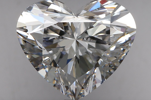 3.01 carat, Color Grade D, Flawless Clarity, Heart Shape, GIA Certified